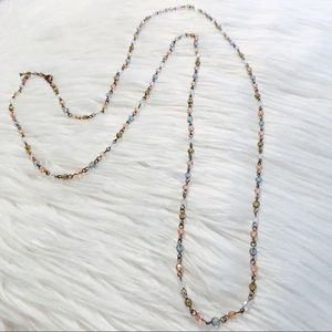 American eagle beaded necklace